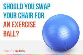 Stability Ball Desk Chair by Should You Swap Your Chair For An Exercise Ball Vitality Nation