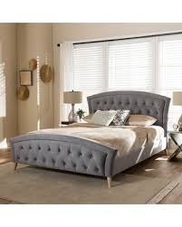 cyber monday s hottest deal on contemporary fabric platform bed by