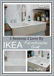 Ikea Domsjo Sink Grid by Ikea Farmhouse Sink The Everyday Home