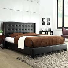 Mahogany Headboard Queen Height Lacquered Mahogany Wood Bed Frame