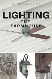 Pottery Barn Ceiling Fans With Lights by Farmhouse Ceiling Fan And Lighting Selections On A Budget Also A