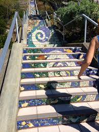 16th Avenue Tiled Steps In San Francisco by 16th Avenue Tiled Steps A Hidden Treasure In San Francisco