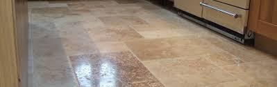 travertine tile floor restoration the floor restoration company