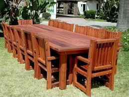 Wonderful Wood Patio Table Modern Furniture Wooden Sets ...