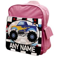 Monster Truck Rucksacks