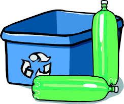 Recycling Bin And Bottles Clip Art at Clker vector clip art