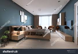 Contemporary Bedroom Dark Blue Walls Light Stock ... Apartment Living Room Interior With Red Sofa And Blue Chairs Chairs On Either Side Of White Chestofdrawers Below Fniture For Light Walls Baby White Gorgeous Gray Pictures Images Of Rooms Antique Table And In Bedroom With Blue 30 Unexpected Colors Best Color Combinations Walls Brown Fniture Contemporary Bedroom How To Design Lay Out A Small Modern Minimalist Bed Linen Curtains Stylish Unique Originals Store Singapore