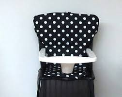 Eddie Bauer Wooden High Chair by High Chair Cover Etsy