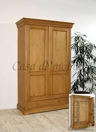 kleiderschrank 120x190x56cm fichte antik gewachst casade mobila