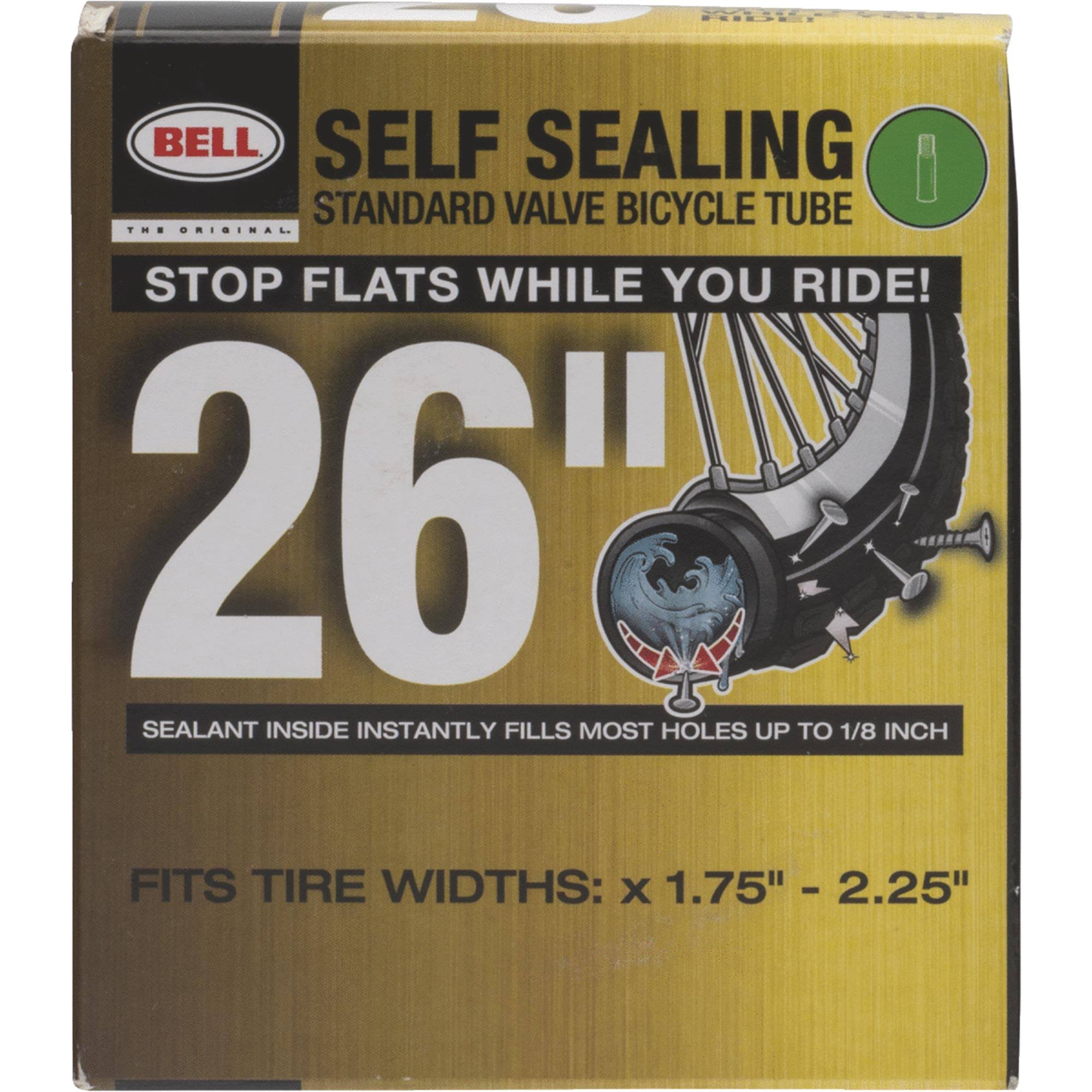Bell Bicycle Self-Sealing Tube - Black