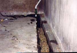 foundation waterproofing basics interior drain tile