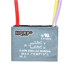 Cbb61 Ceiling Fan Capacitor 5 Wire by Hqrp 887774409181611 Ceiling Fan Capacitor Cbb61 1 5uf 2 5uf 3 Wire