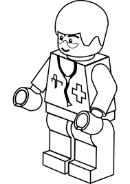 Click To See Printable Version Of Lego Doctor Coloring Page