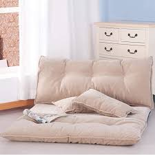 fabric floor lounge with 5 adjustable