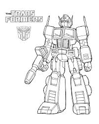 Transformers Coloriage Coloriages Optimus Prime Et Bumblebee Beau