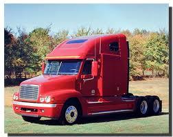 100 Truck Paper Freightliner Amazoncom Wall Decor Red Diesel Vintage Art