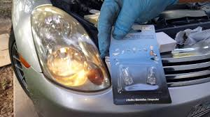 03 g35 sedan low beam light bulb replacement and parking