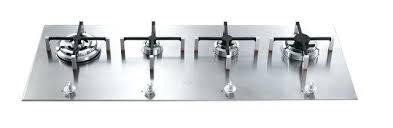plaque cuisine gaz plaque cuisine inox plaque de cuisson au gaz px 140 en inox smeg 799