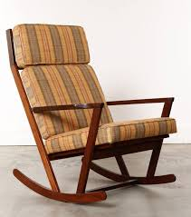 Danish Modern Wooden Rocking Chair With Cushions Designed ... Elegant Indoor Wooden Rocking Chair Livingroom White Black Surprising Mission Style And Designs Acacia Merax Solid Wood Outdoor For Patio Yard Porch Garden Backyard Balcony Living Room Classic Americana Windsor Rocker Gift Mark With Upholstered Seat Antique Arts Crafts Oak Ladder Back Hip Rail Timeless Handcrafted Fniture From The Rockerman Excellent Chairs Bentwood Hire Folding Table Jackpost Majestics Hdware Knollwood Do It Best Handmade