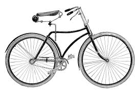 Vintage Clip Art Bicycle