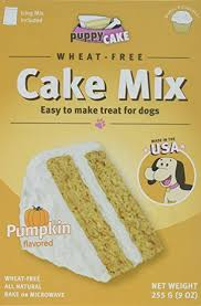 Cake Mix And Pumpkin by Amazon Com Puppy Cake Pumpkin Cake Mix And Frosting Wheat Free