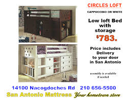 100 Loft In San Antonio Bunk Beds And Beds FUTON STORE