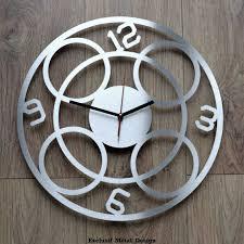 horloge cuisine pas cher beau pendule de cuisine originale et grande horloge murale design