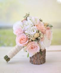 Silk Bridal Bouquet Wildflowers Pink Roses Babys Breath Rustic Chic Wedding NEW 2014 Design By Morgann Hill Designs