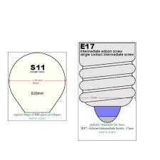Lava Lamp Bulb Walmart by Replacement Bulbs For Lava Lite 5025 6 25 Watt 14 5 Inch Lava