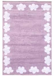 tapis chambre d enfant tapis lavable en machine pour chambre d enfant cenefa mauve de la