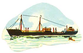 cargo boat clip art