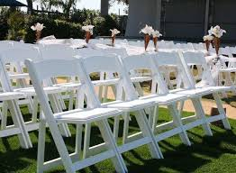 Our White Garden Chairs Come With Extra Padding For Support And Are Perfect Any Formal Event Or Wedding