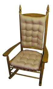 100 The Gripper Twill 2 Pc Rocking Chair Pad Set Seat Cushions And Backs Best Rocking Chair Cushions
