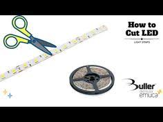 how to cut connect power led lighting diy