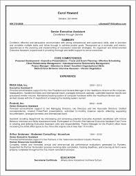 Senior Executive Assistant Resume Examples