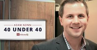 Nonns Flooring Middleton Wisconsin by Nonn U0027s President U0026 Ceo Adam Nonn Awarded 40 Under 40 By In