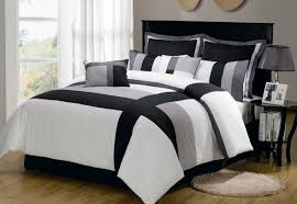 Walmart Bedding Sets Twin by Bedding Set Imposing Astonishing Black And White Comforter Set