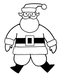 Printable Christmas Coloring Pages For Toddlers