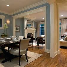 Open Concept Kitchen Dining Room Paint Colors For Living And Com