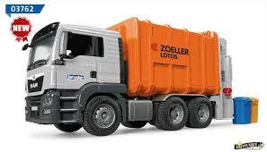 100 Bruder Trucks MAN TGS Garbage Truck RearLoading 03762 4999