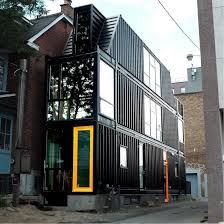 100 House Shipping Containers THE TORONTO CONTAINER HOUSE S H I P P I N G