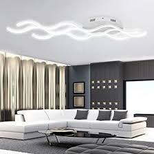 froadp 30w wellenförmige led hängele acryl welligkeit kurve pendelleuchte wellenform deckenleuchte kronleuchter lüster für esszimmer