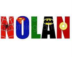 Superhero Room Decor Australia by Superhero Name Etsy