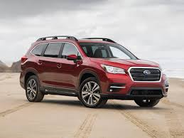 2019 Subaru Ascent First Review Kelley Blue Book Inside 2019 Subaru ...