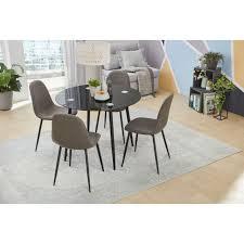 jockenhöfer gruppe essgruppe praktische kompakte esstischgruppe inklusive 4 stühlen