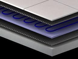 tile floor heating mat heated floor systems heating tile