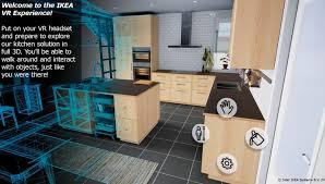 concevoir une cuisine ikea une expérience en réalité virtuelle pour concevoir sa