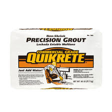 Quikrete Self Leveling Floor Resurfacer by Quikrete 50 Lb Non Shrink Precision Grout 158500 The Home Depot