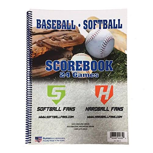 Glovers Baseball/Softball Scorebook (24 Games) B&S-10