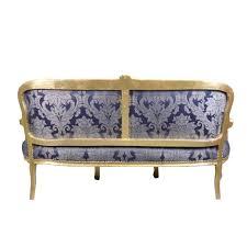 canape louis 15 canapé louis xv bleu rococo meubles louis xv
